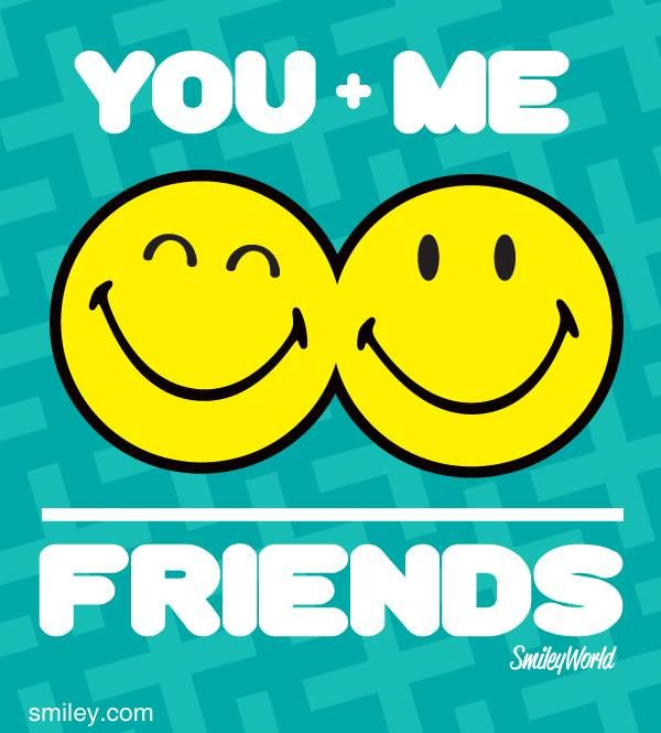 Friends Forever!!! Free download of smiley icons of the day  at www.smiley.com