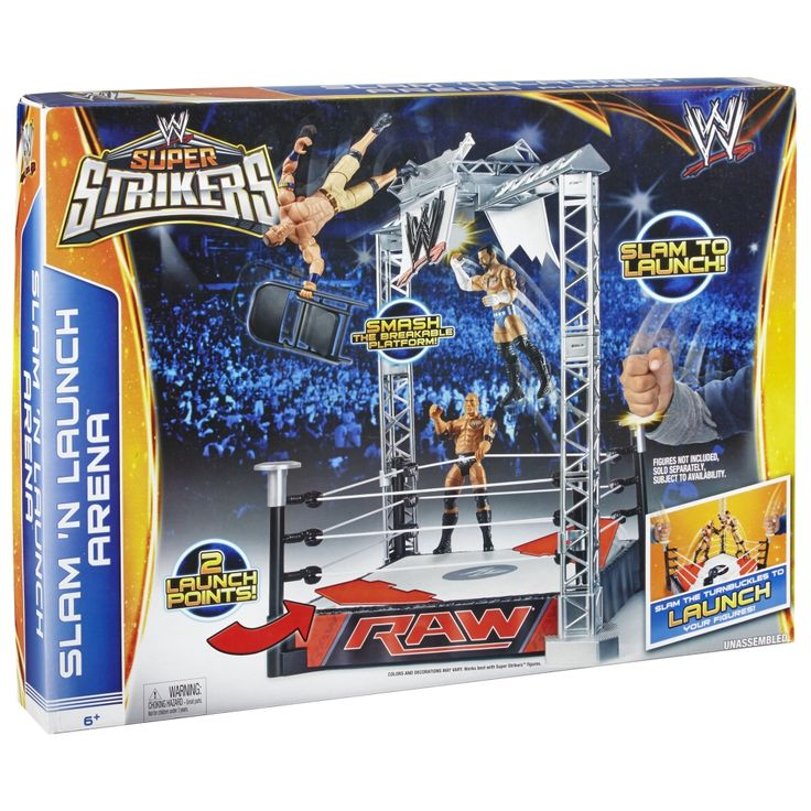 Toys R Us Wwe Rings : Best images about adam s board wwe playsets on