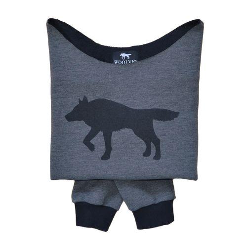 Wolf Sweatshirt from Woolves #sweatshirt #black #wolf #Woolves