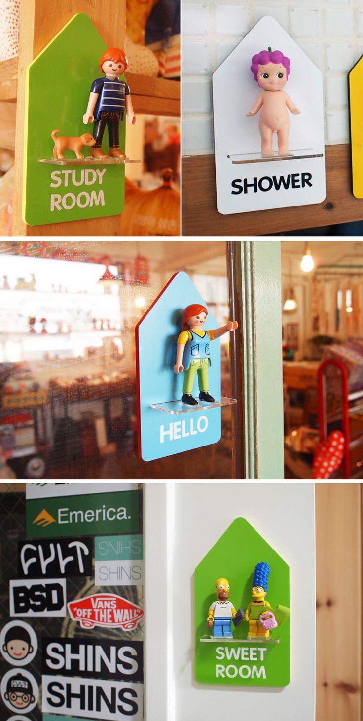 [바보사랑] 피규어가 안내해드릴게요 /도어사인/문패/인테리어/레고/피규어/소니엔젤/인형/디자인소품/장식/Door signs/Doorplate/Interior/Lego/Figures/Sony Angel/Dolls/Design accessory/Decor