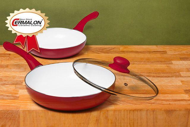 Non-Stick Ceramic Frying Pan Set