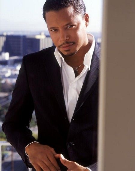 Terrence Howard - outside Goa in Hollywood