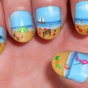 cute summer nail designs for short nails