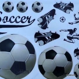 Ben je een echte voetbalfan? Dan is deze GIPSTATTOO VOETBAL iets voor jou! ;Je herstelt sneller en beter als je vrolijk bent!