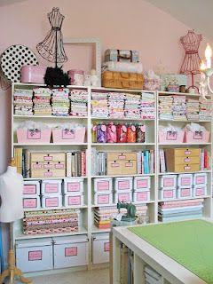 44th Street Fabric: Sewing Studio Ideas