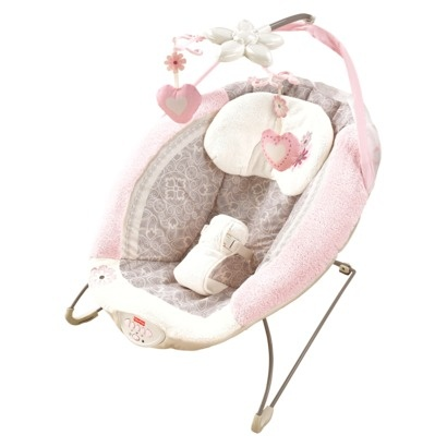 Fisher-Price My Little Sweetie Deluxe Bouncer: Every infant needs a special place to give mommy/daddy arms a break once in a while! This is my FAVORITE bouncer. The quality and materials make it my top pick!