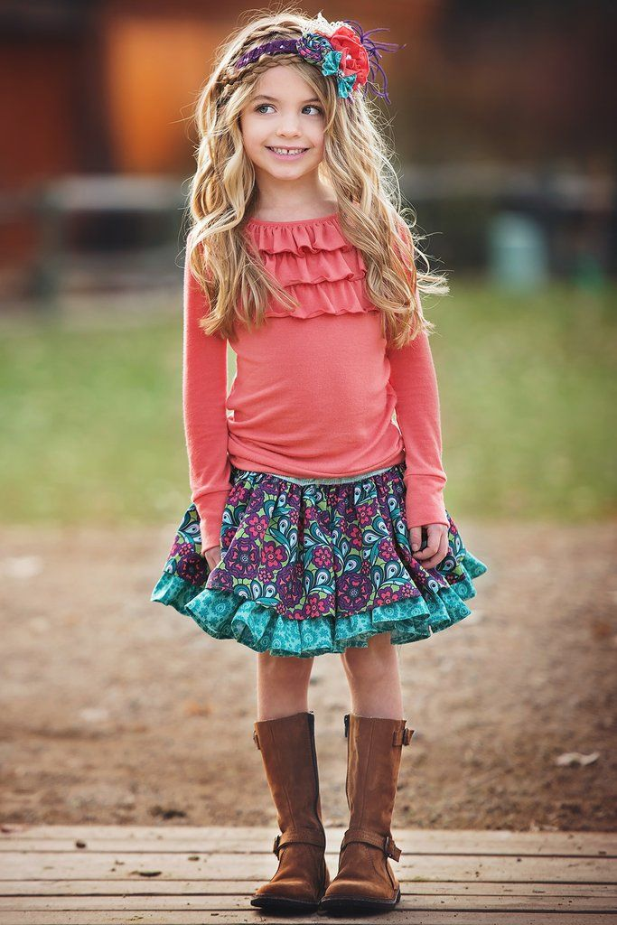 Lily Skirt - Turquoise-PRE-SALE-SHIPPING 7/29/16