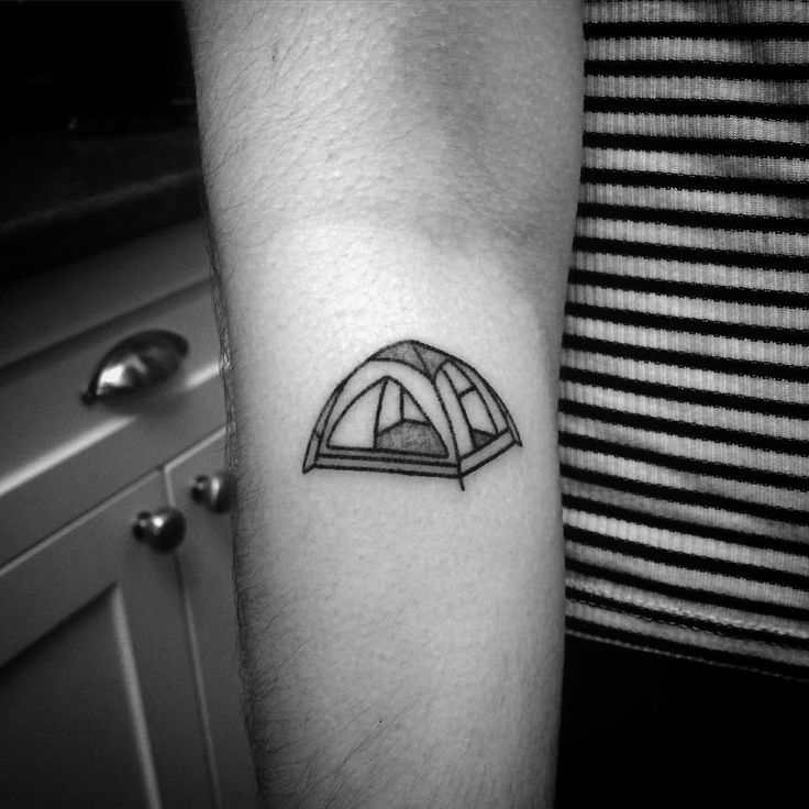 Cute little camping tent from a few weeks ago