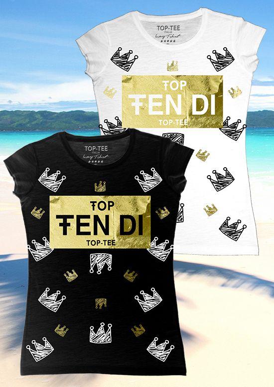 TOP TEE ITALIA – SPRING SUMMER 2017