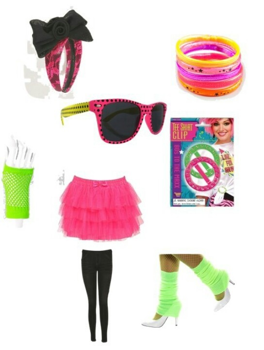 80's Fashion Ideas...... LOOK IRENE SOMETHING LIKE THIS!!!