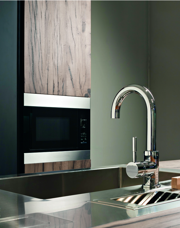 The Perfeque bar faucet is perfect for small spaces