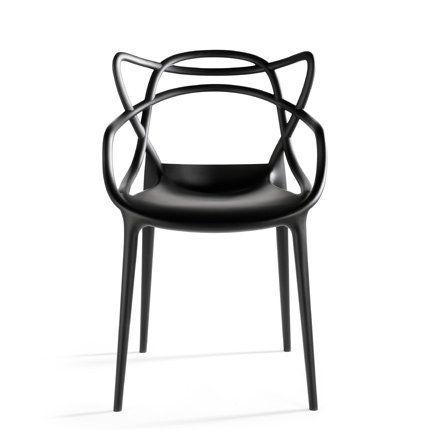 Trois icônes du design sont rassemblées en un seul modèle de chaise - Chaise Monsters de Philippe Starck chez Kartell