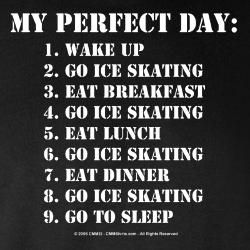 I remember when this was my perfect day...miss it! :(
