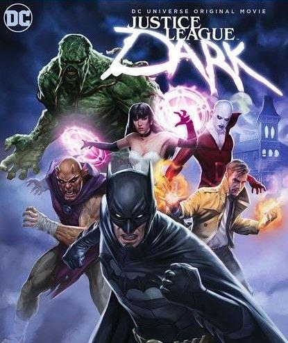 Jason O'Mara, Nicholas Turturro, Matt Ryan, and Camilla Luddington in Justice League Dark (2017)