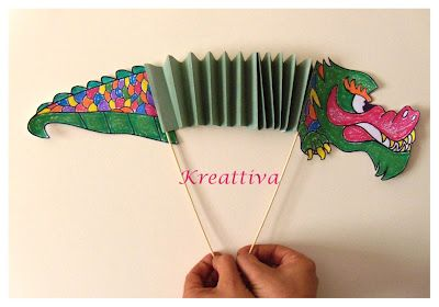 Kreattiva: Let's play with crayons Staedtler and the Chinese dragon