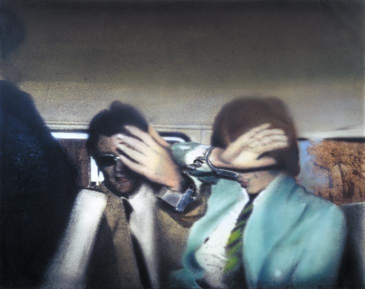 Richard Hamilton 'Swingeing London 67 (f)', 1968–9 © The estate of Richard Hamilton 1968