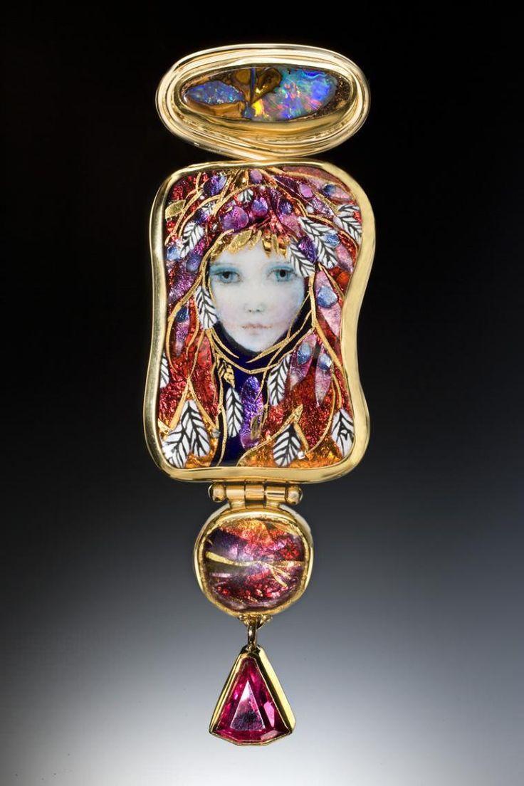 Ювелирные изделия с эмалью. Alex & Mona Szabados.-4
