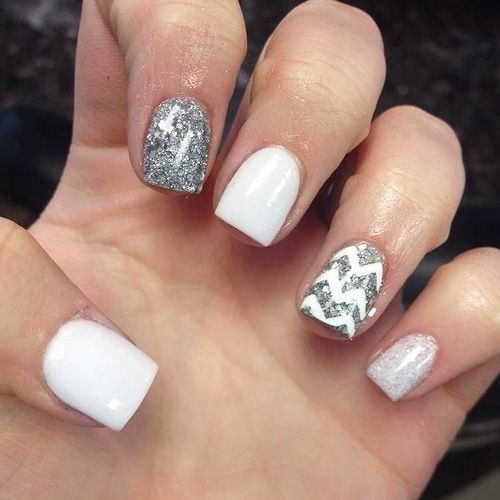 White Nail Ideas: White Cute Nail Designs - Google Search