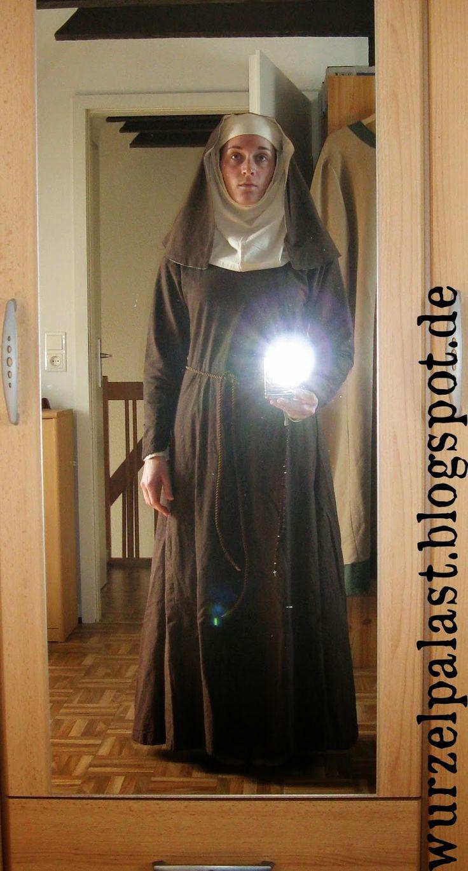 Nonne Kostüm Larp KrimiDinner