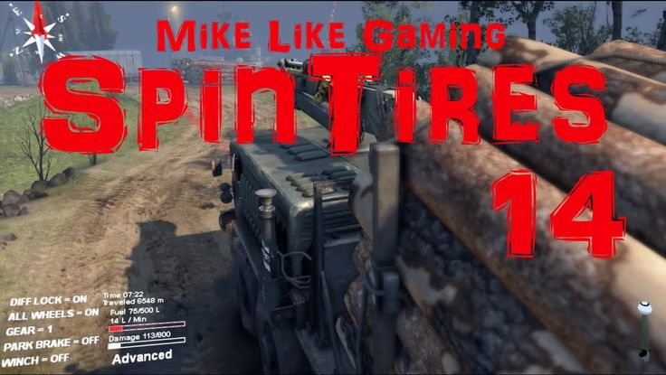 SpinTires Volcano 14: More Truckin'. In this video I try my best to make it to the lumber yard in one piece.