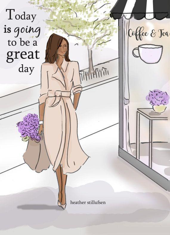 Positive Art for Women  Positive Quotes  by RoseHillDesignStudio