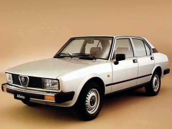 Alfa Romeo Alfetta (1981 - 1983).