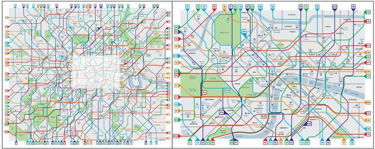 A stunning, elegant bike / cycle map for London. Where can we get a poster?