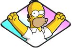 The Simpsons free games to play for free in English and The Simpsons free flash games to play with the newest games every day