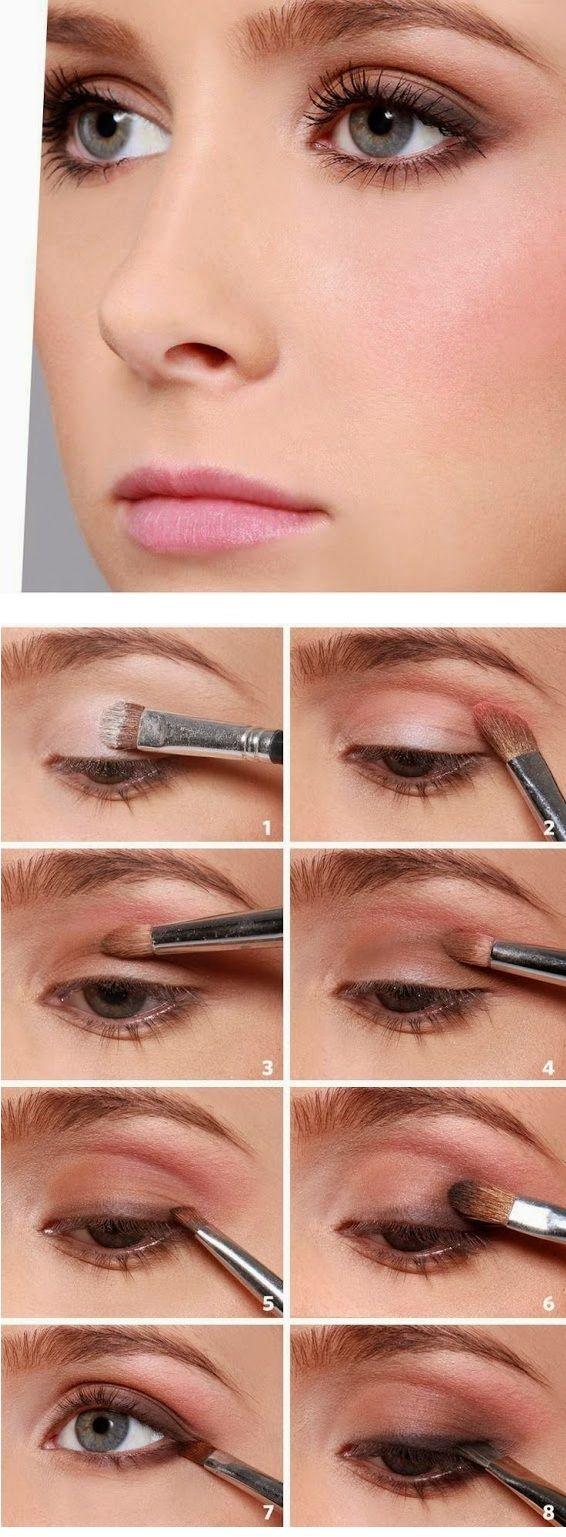 Mit diesen Make-up-Mustern sehen Ihre Augen vor Valentinstag sehr romantisch aus …   – Hayat kurtaran makyaj ipuçları