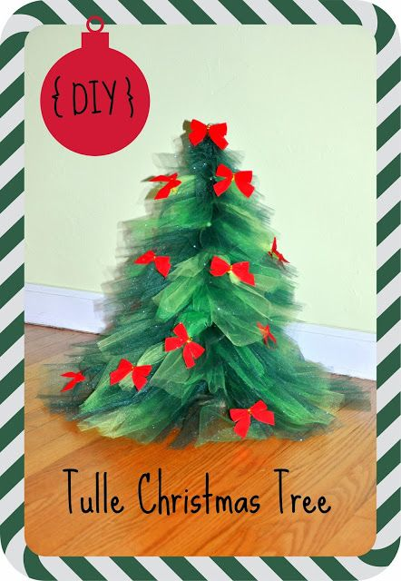 DIY tulle Christmas tree by Jenny with Dancin' With A Dolly