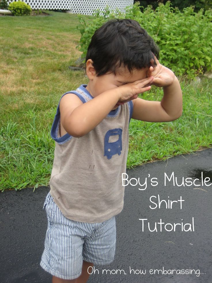 Zaaberry: Boy's Muscle Shirt Tutorial Revisited