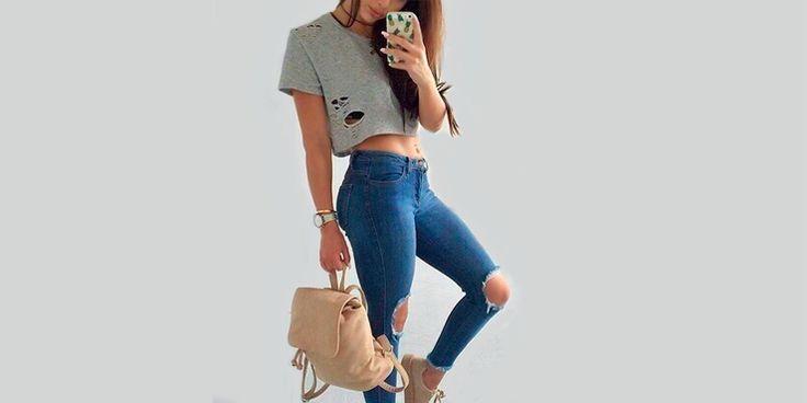 Maneras de lograr un outfit hermoso con tus prendas rotas