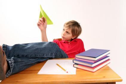 Dificuldades de aprendizagem - TDAH
