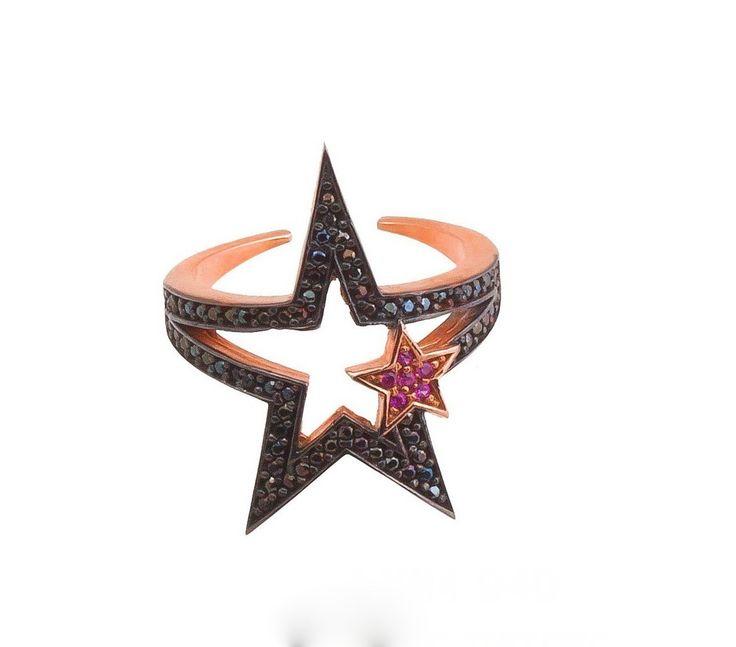 Δαχτυλίδι αστέρι - ΔΑΧΤΥΛΙΔΙΑ - ΚΟΣΜΗΜΑΤΑ | lovart.gr