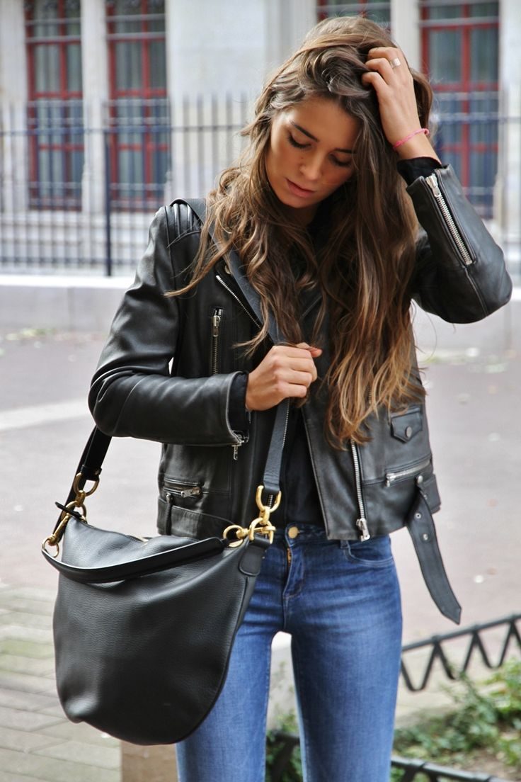 Perfecto The Kooples & Sac Torino Avril Gau #modefemme #rouen #style