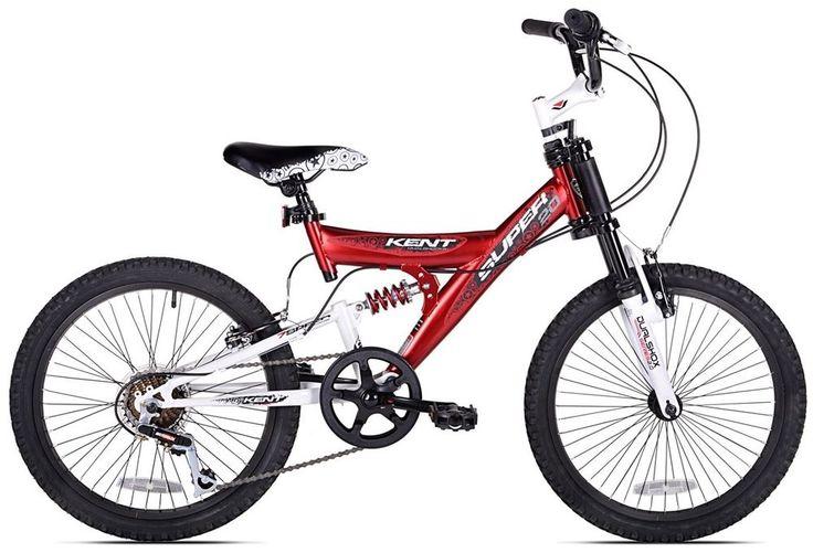 Kent 20-inch Super 20 Boys Dual Suspension Mountain Bike #Kentinch
