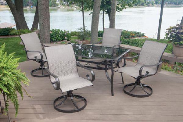 Luxury Patio Furniture Sets From Menards » Camdon 5 Piece