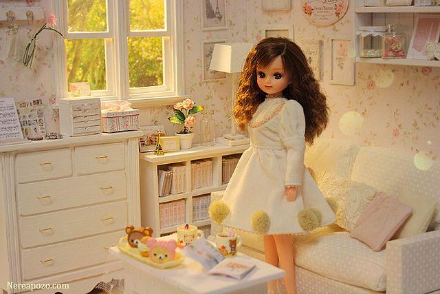 White Glows Diorama