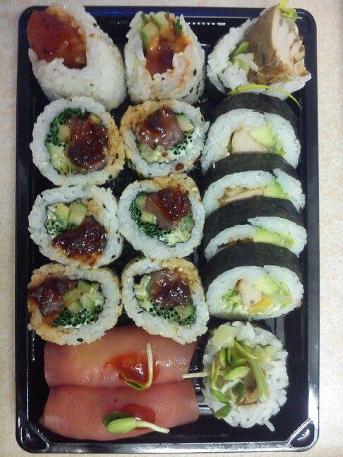 Tunczyk w trzech wersjach: surowy z Maguro Zuke, smazony z Kaidy oraz surowy z Gurume seta, a wszystko w ramach składu Kenko 50