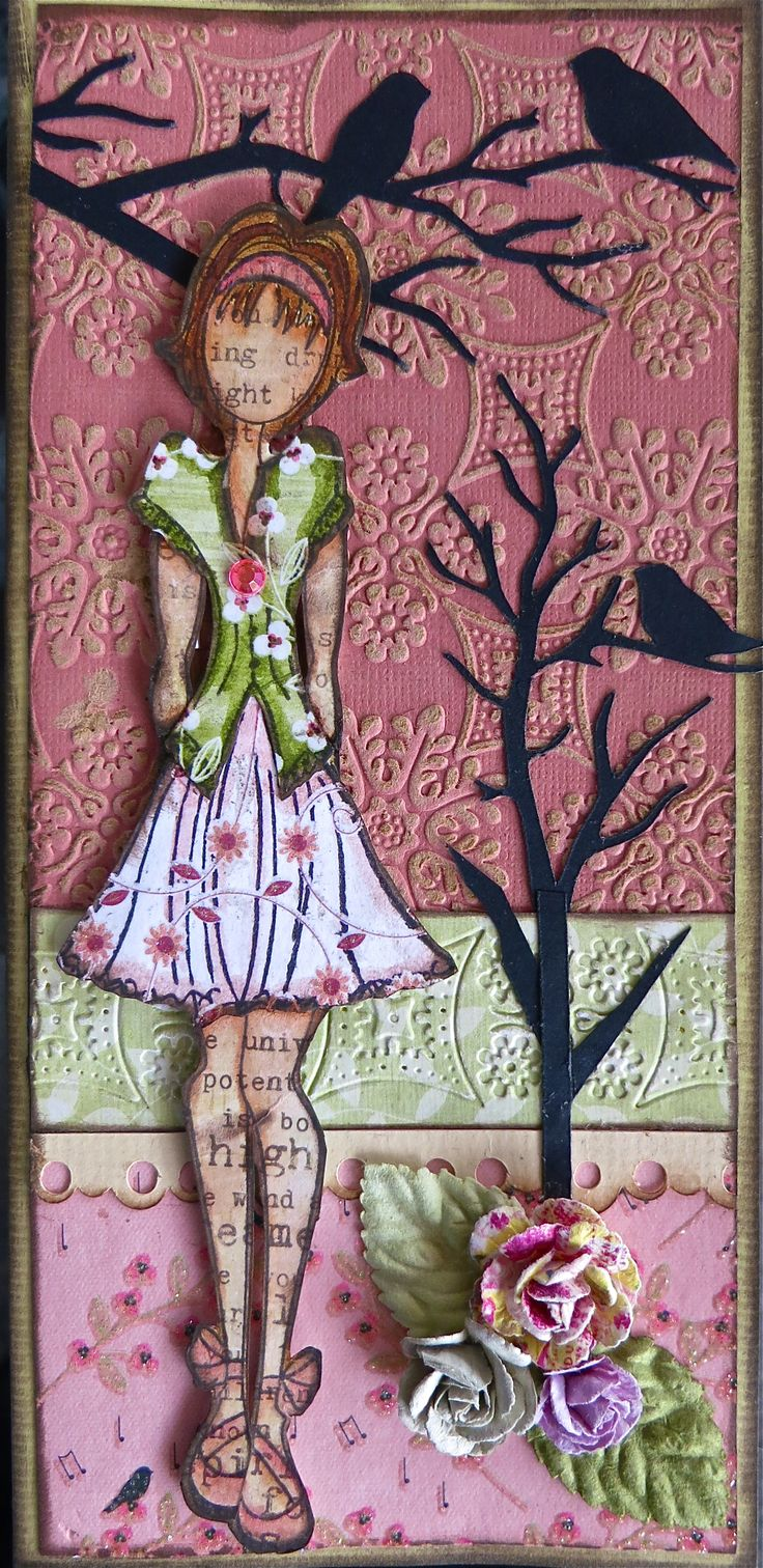 Prima Art Doll Stamp.