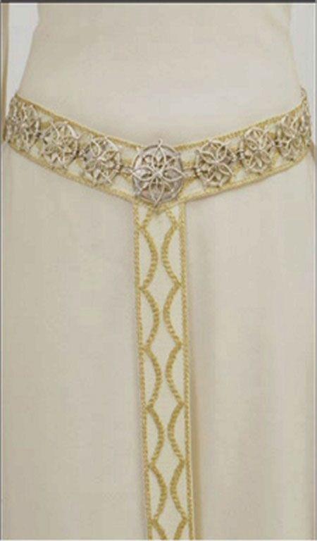screencaps white wool Eowyn Dress