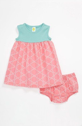 Stem Baby Summer Dress & Bloomers (Infant) | Nordstrom