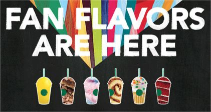 Starbucks Secret Menu Frappuccinos  Made Official Flavors Omg i love the cotton candy one! Its delish!