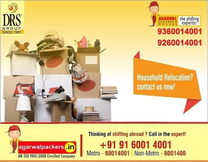 #AgarwalPackers and Movers #DRS Group #Residential #Offering #Householdpackers