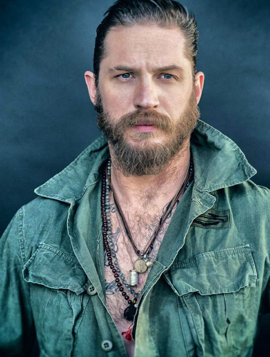Tom Hardy | by Greg Williams | Studio Ciné Live 69 – May 2015