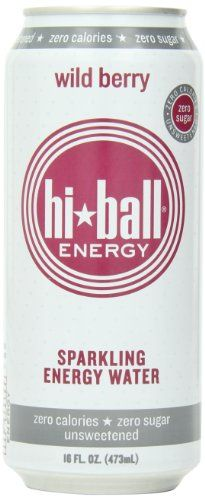 Hi Ball Sparkling Energy Water Wild Berry 16 Ounce Pack of 12 *** You can get more details by clicking on the image.