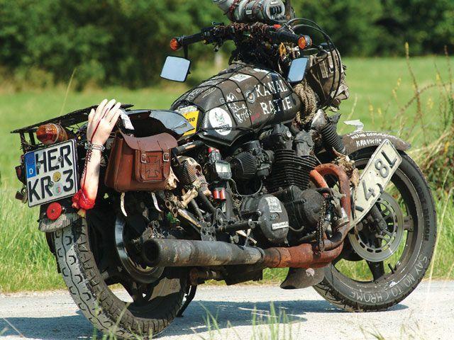 Chopper, bobber, cafe racer czyli custom bikes