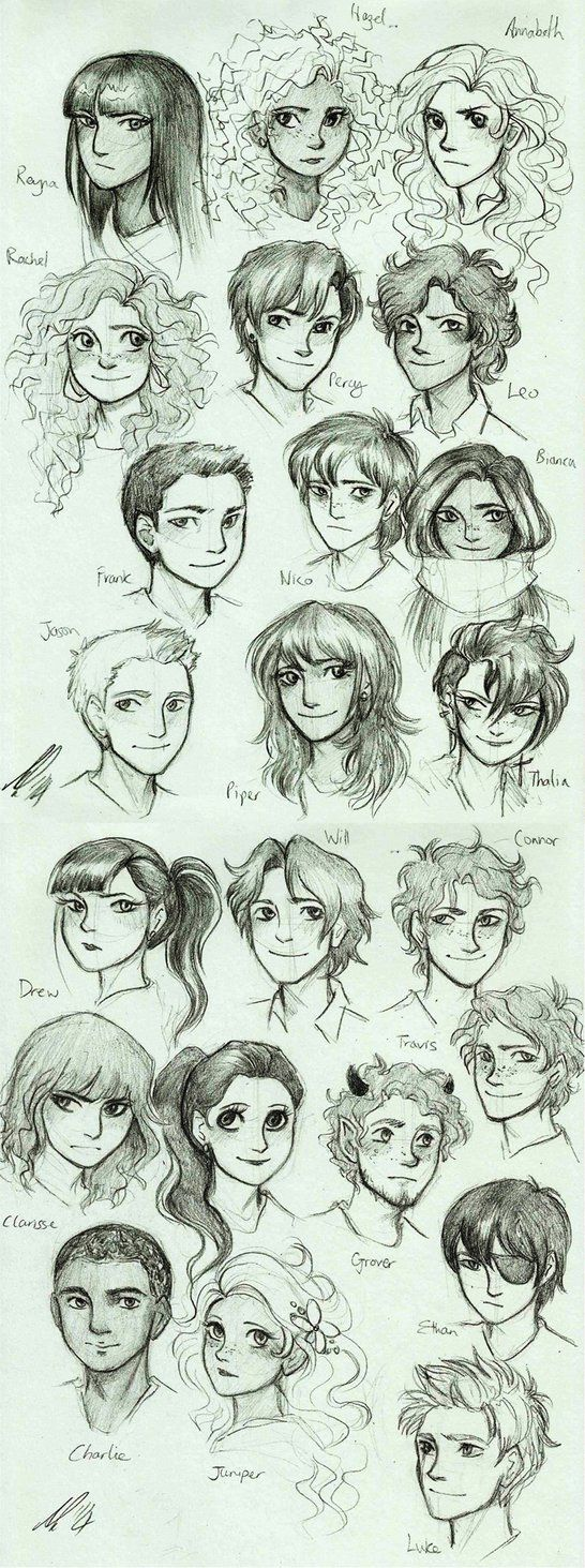 Heroes of Olympus by AndytheLemon on deviantART