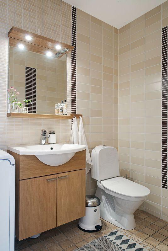Beżowa łazienka