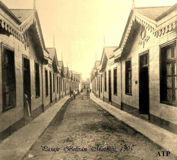 Pasaje Beltrán Mathieu, 1905.